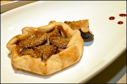 A Fig tart